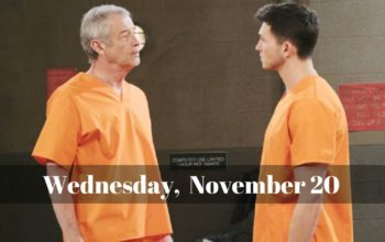 Days of Our Lives Spoilers Wednesday, November 20 DOOL Ubdate