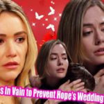The Bold and The Beautiful Spoilers Florence Tries In Vain to Prevent Hope's Wedding