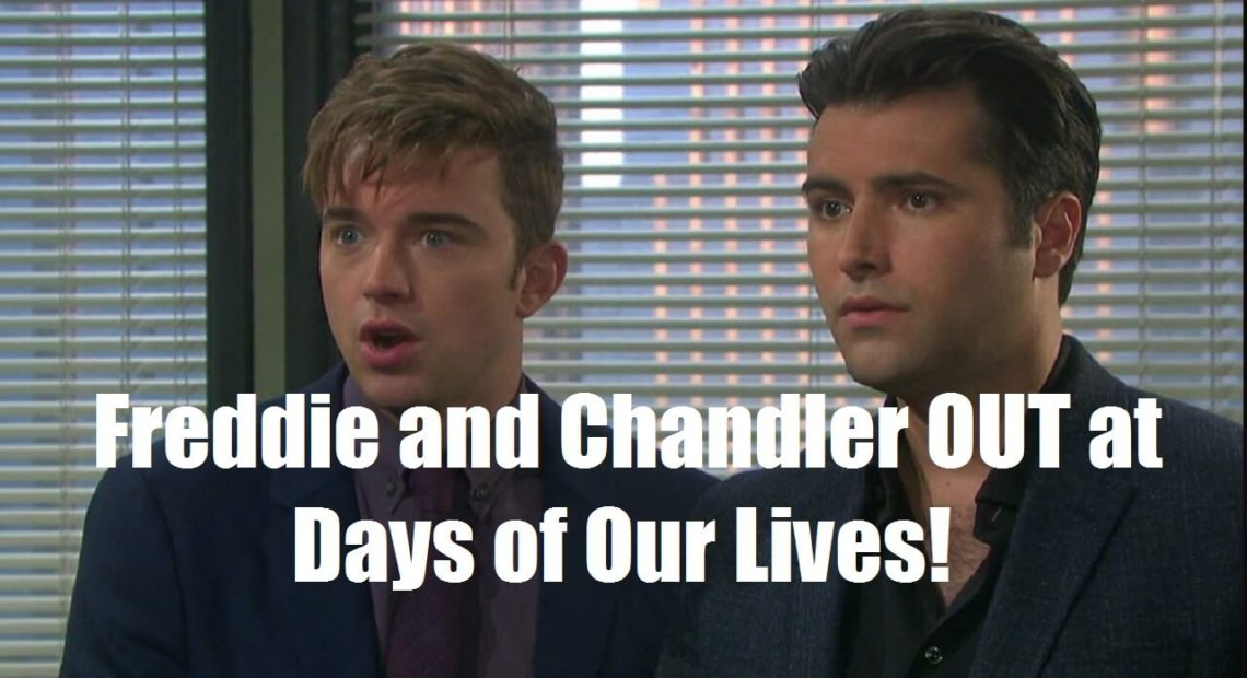 Freddie Smith and Chandler Massey OUT at Days of Our Lives!