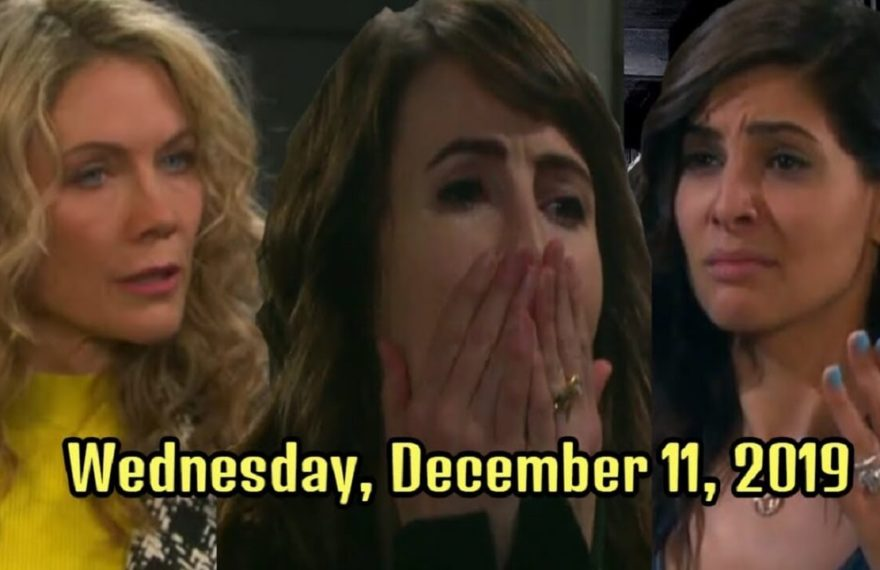 Days of Our Lives Spoilers Wednesday, December 11 DOOL Ubdate
