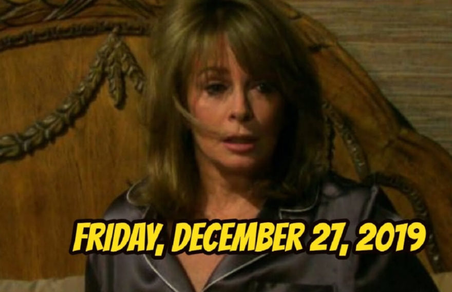 Days of Our Lives Spoilers for Friday, December 27 DOOL Ubdate