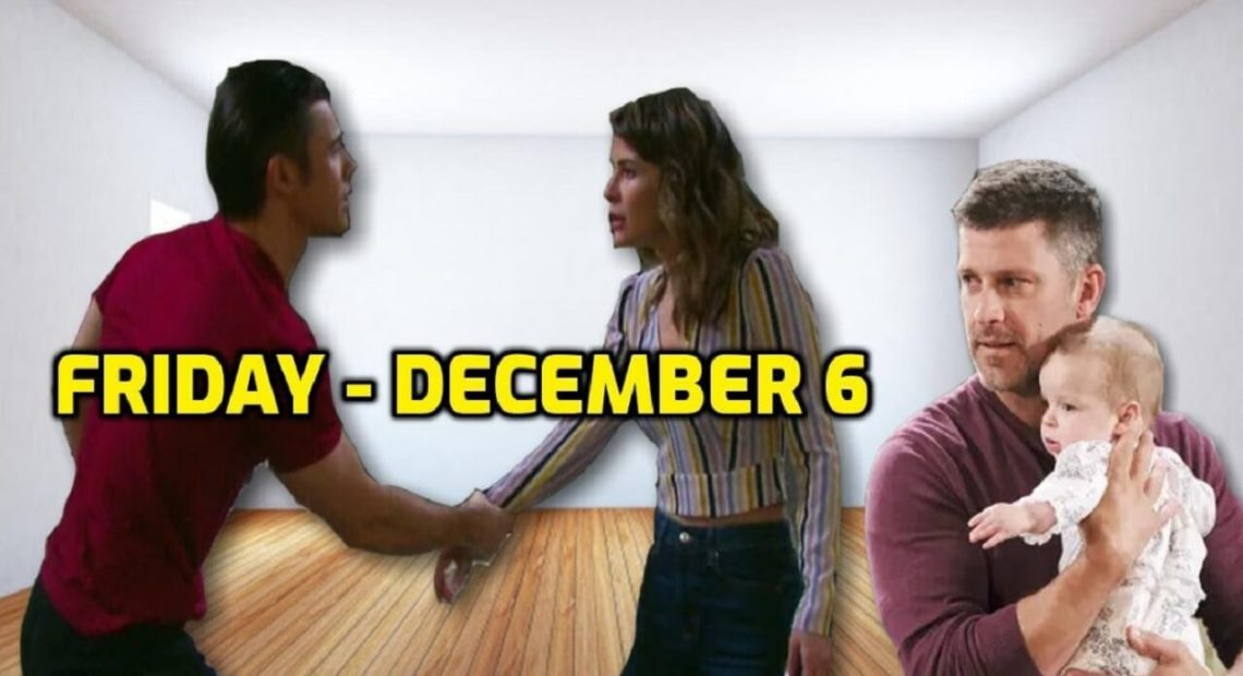 Days of Our Lives Spoilers Friday, December 6 DOOL Ubdate