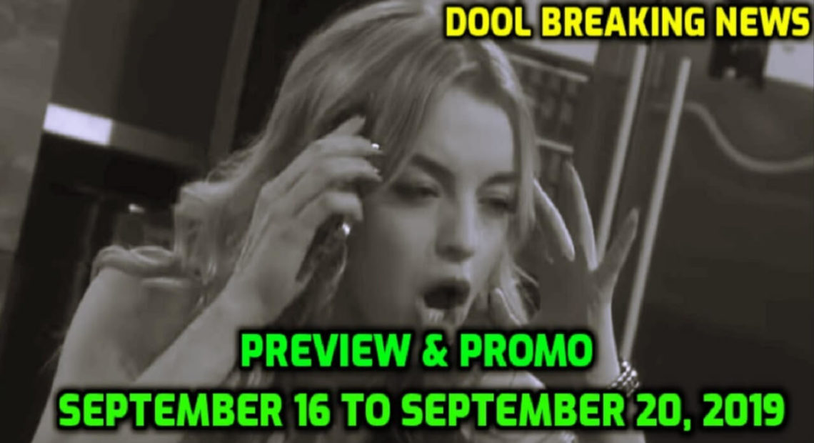 Days of Our Lives Spoilers for September 16-20 Next Week