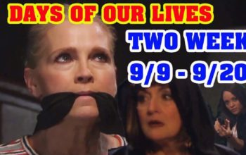 Days of Our Lives Spoilers Next Two Weeks September 9-20