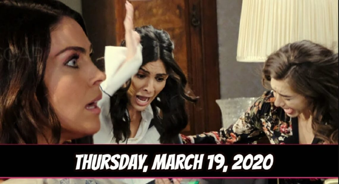 Days of Our Lives Spoilers for Thursday, March 19 DOOL