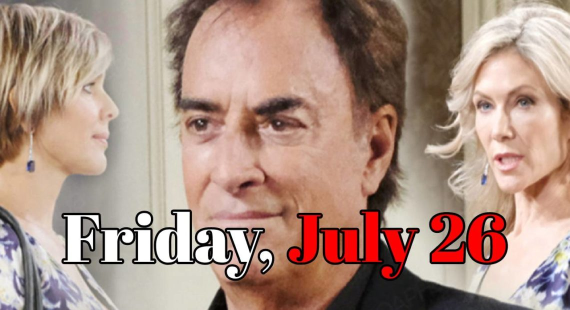 Days of Our Lives Spoilers Friday, July 26 Tony DiMera Resurfaces