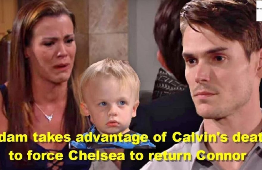 The Young And The Restless Adam Takes Advantage Of Calvin's Death