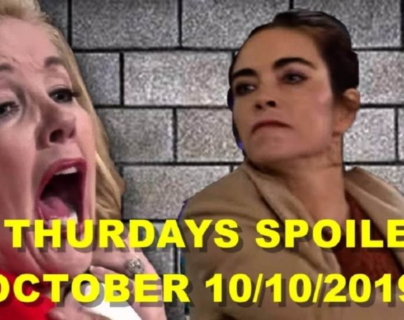 The Young and the Restless Spoilers Thursday, October 10 Y&R Ubdate