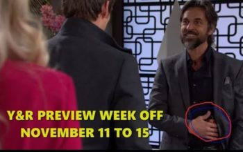 The Young and the Restless Spoilers Preview Week Of November 11-15