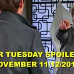 The Young and the Restless Spoilers Tuesday, November 12 Y&R Ubdate