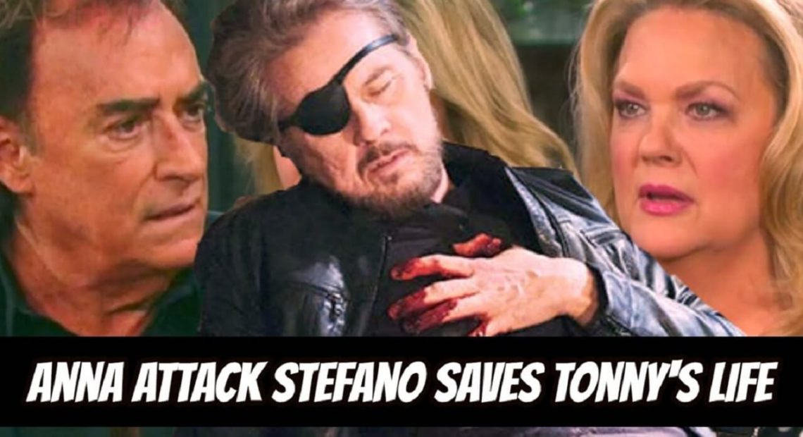 Days of Our Lives Spoilers: Steve's return looms, Anna attack Stefano saves Tonny's life