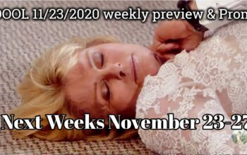 Days of Our Lives Spoilers For November 23-27 Next Weeks