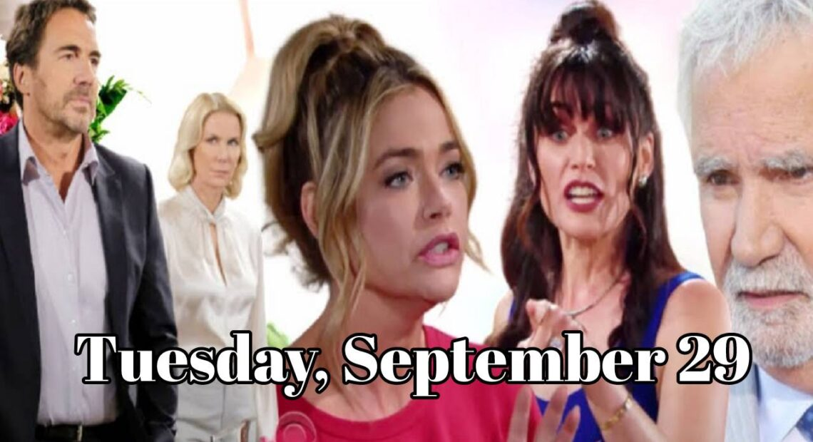 The Bold and The Beautiful Spoilers Tuesday, September 29, 2020