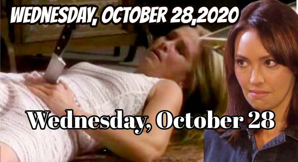 Days of Our Lives Spoilers For Wednesday, October 28 Days