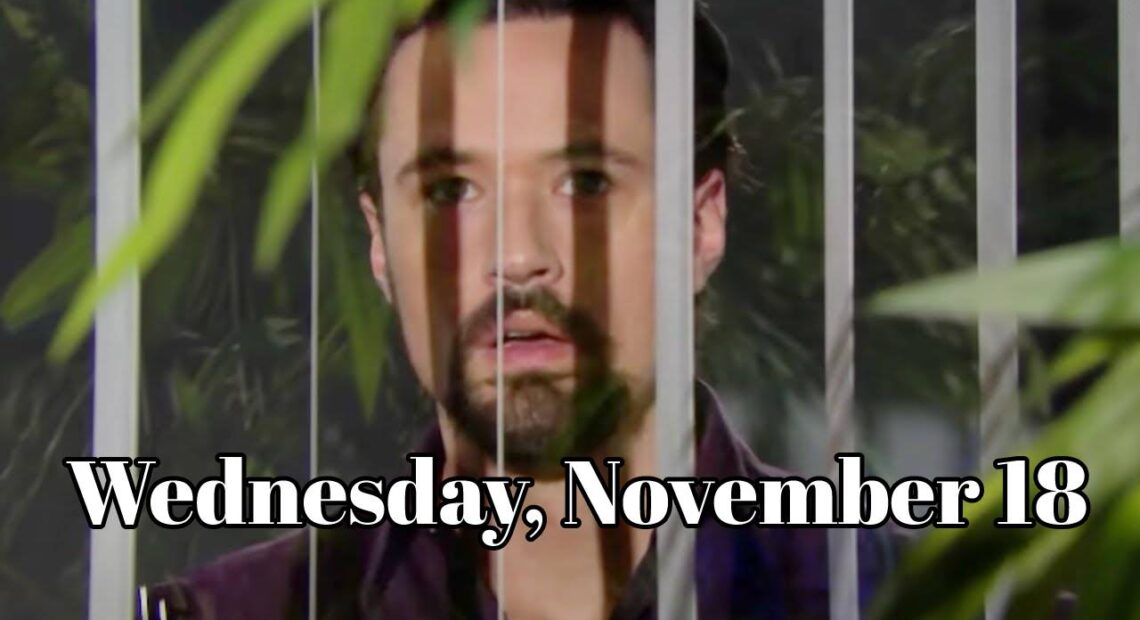 The Bold and The Beautiful Spoilers Wednesday, November 18, 2020