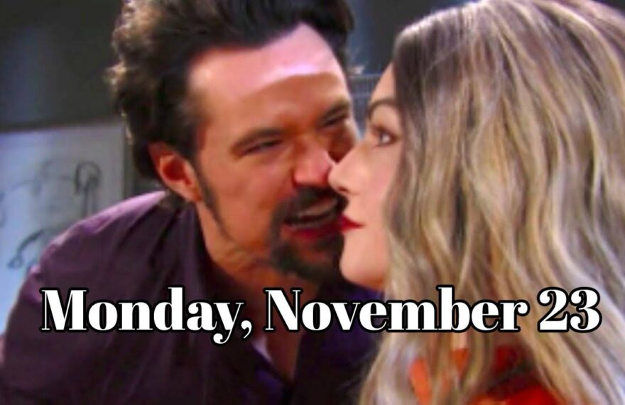 The Bold and the Beautiful Spoilers For Monday, November 23, B&B