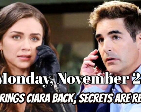 Days Of Our Lives Spoilers For Monday, November 23, Days