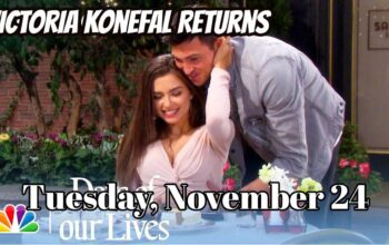 Days Of Our Lives Spoilers For Tuesday, November 24 DOOL