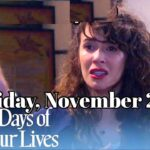 Days of Our Lives Spoilers For Friday, November 27 Days