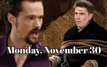 The Bold and the Beautiful Spoilers For Monday, November 30, B&B