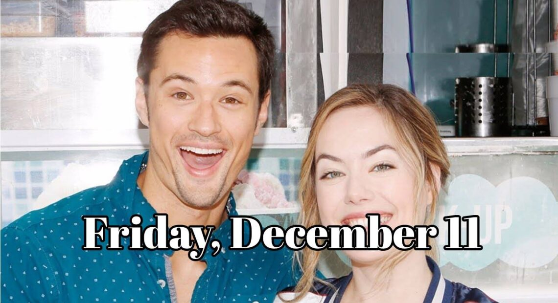 The Bold And The Beautiful Spoilers For Friday, December 11 B&B