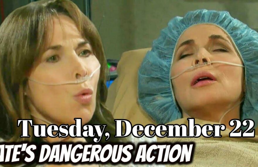 Days Of Our Lives Spoilers For Tuesday, December 22 DOOL