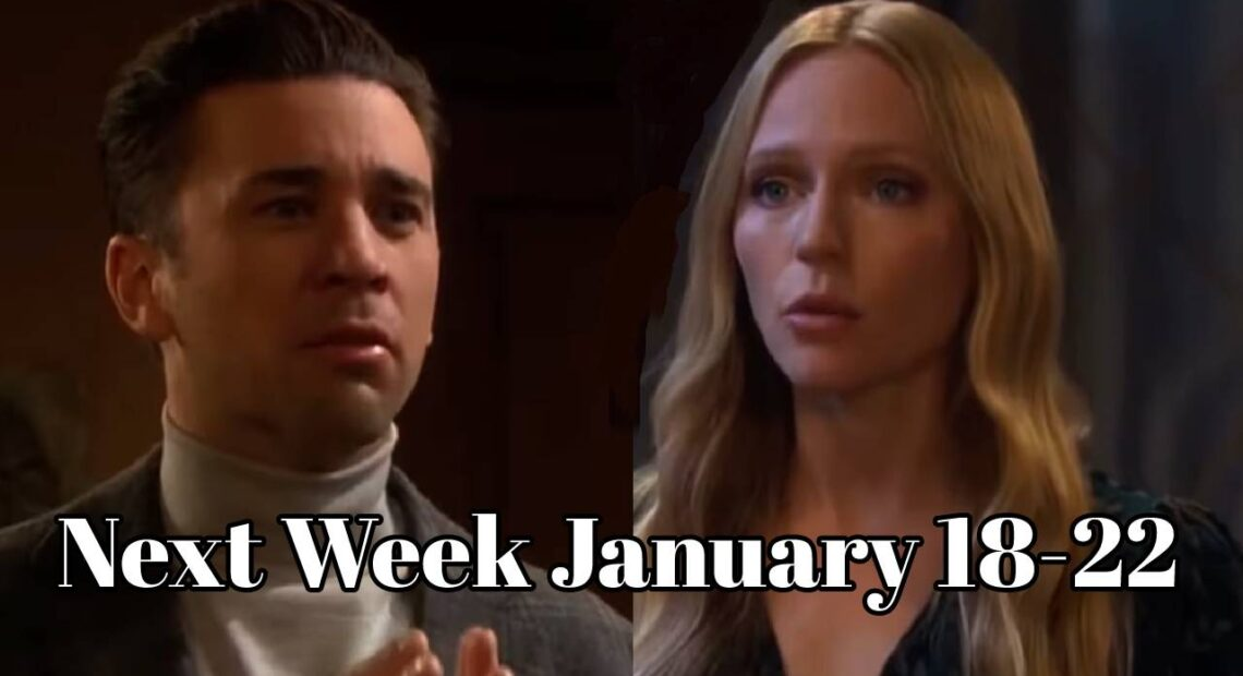 Days of Our Lives Spoilers Next Weeks, January 18-22 DOOL