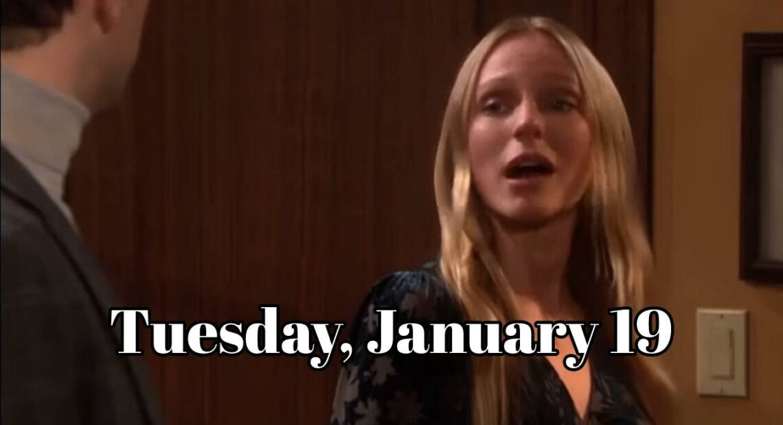 Days of Our Lives Spoilers Tuesday, January 19, DOOL