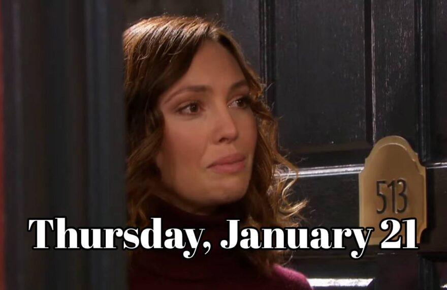 Days of Our Lives Spoilers For Thursday, January 21, 2021