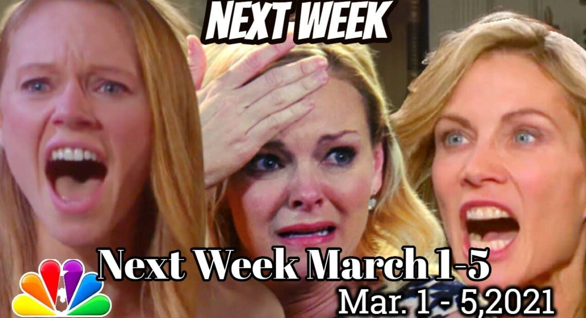 Days of Our Lives Spoilers For Spoilers Next Week for March 1-5, 2021