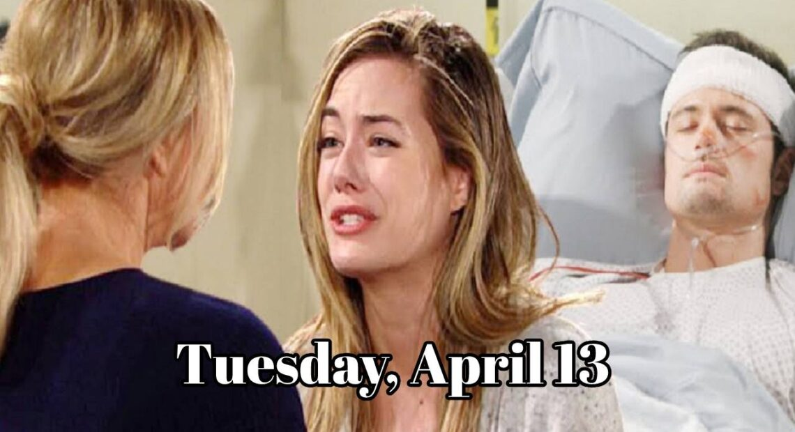 The Bold and The Beautiful Spoilers For Tuesday, April 13, B&B