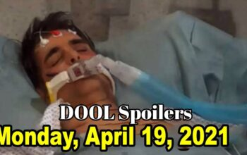 Days Of Our Lives Spoilers For Monday, April 19, DOOL