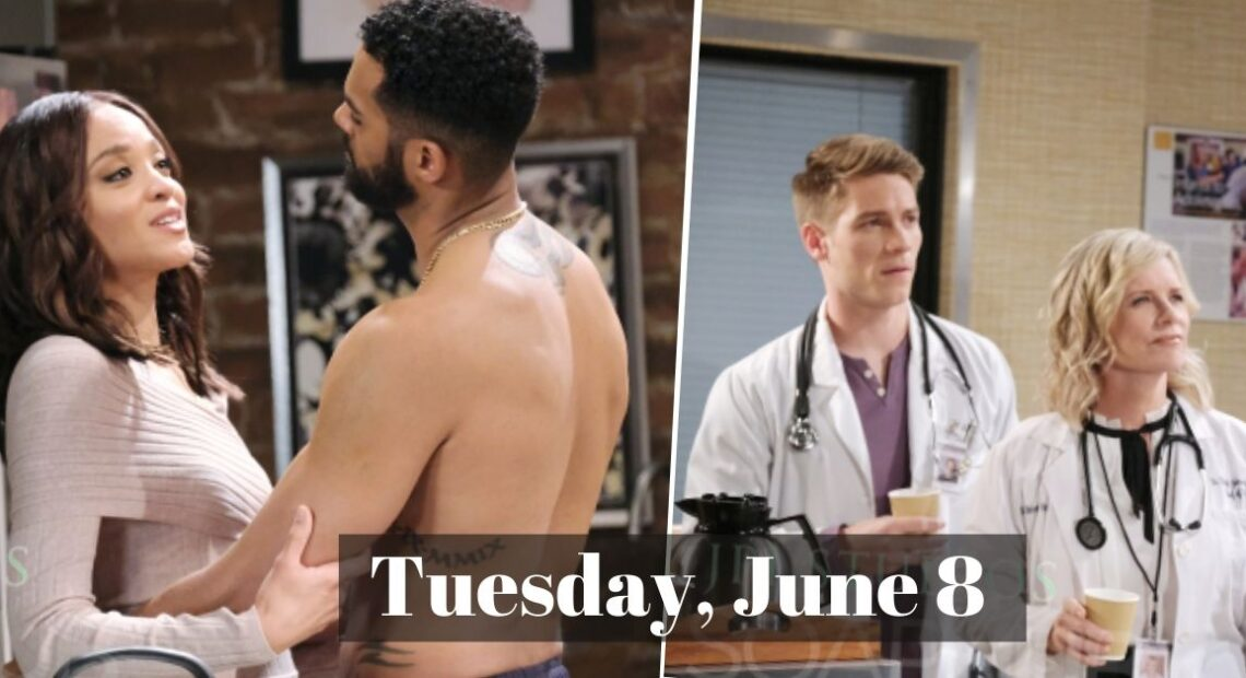 Days of our Lives Spoilers For Tuesday, June 8, DOOL